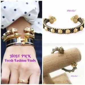 💖HP💖 stella & dot artemis lionhead cuff bracelet